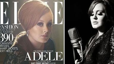 New mother Adele looks stunning on cover of Elle Magazine