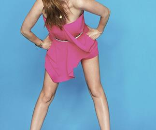 Isla Fisher in *Fitness* magazine