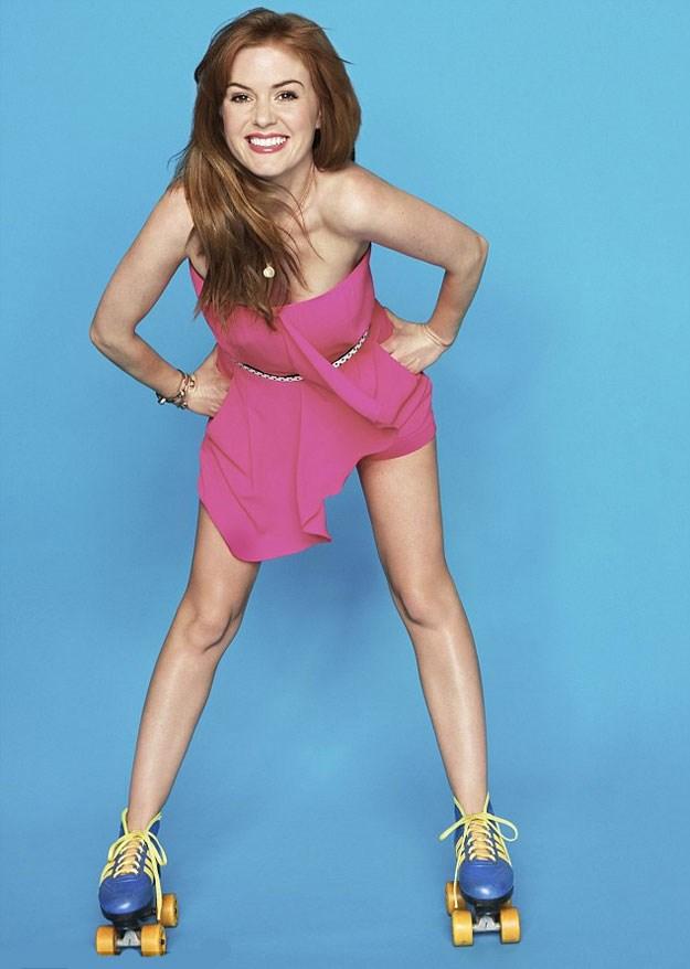 Isla Fisher in *Fitness* magazine