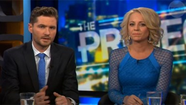 Carrie Bickmore brought to tears over cancer that killed her husband