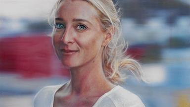 Asher Keddie painting is the people's choice at Archibald Awards