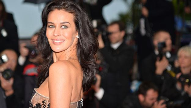 Megan Gale Cannes red carpet