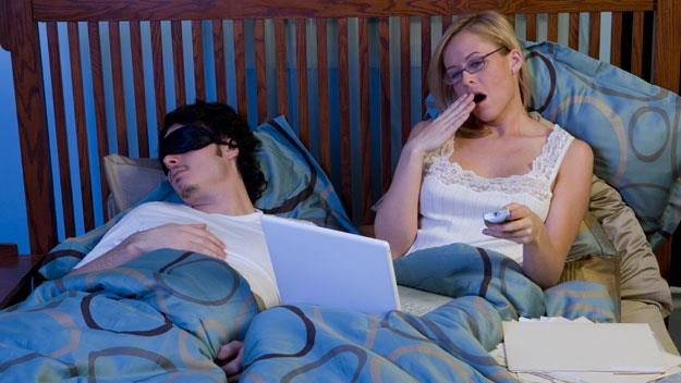 A Harvard sleep professor has blamed screen-time for our lack of sleep.