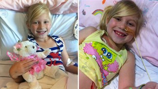 Bone marrow from brother saves eight-year-old girl