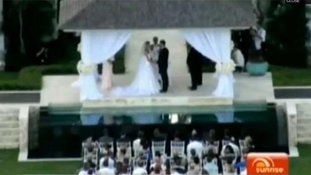 Jennifer Hawkins marries Jake Wall