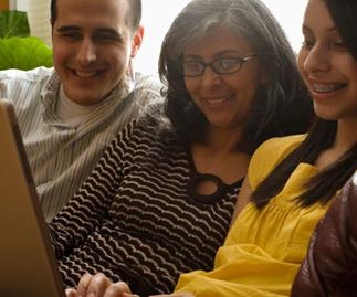 Teens prefer time with mum and dad to Facebook friends