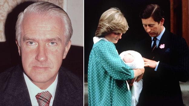 Retro read: The man who brings royal babies into the world