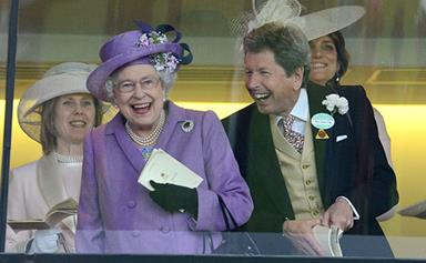 One has won! Queen delighted as her horse wins at Ascot