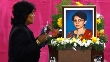 Royal prank nurse laid to rest in India