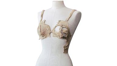 Archaeologists discover 'world's oldest bra'