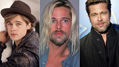 Baby-faced to big shot: The evolution of Brad Pitt