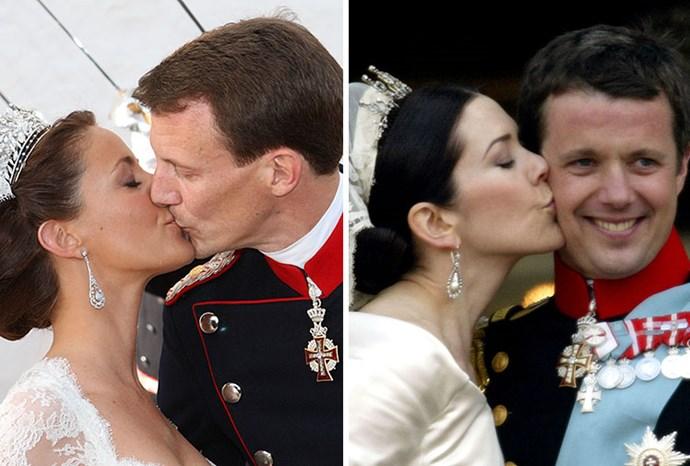 Princess Marie of Denmark and Princess Mary of Denmark