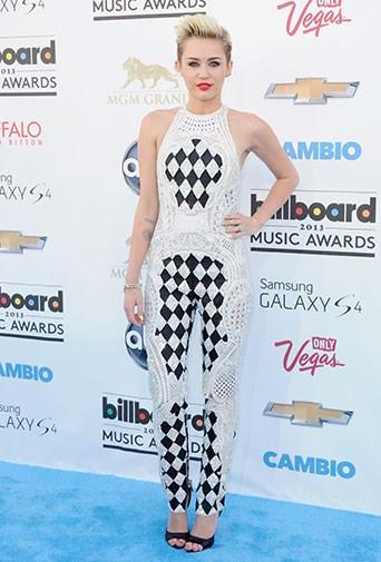 At the 2013 Billboard Music Awards in May 2013.