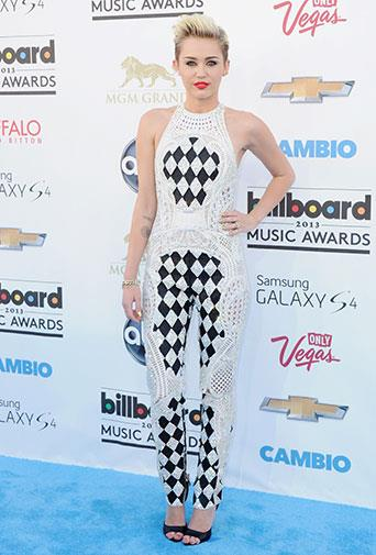 At the 2013 Billboard Music Awards in May 2013.