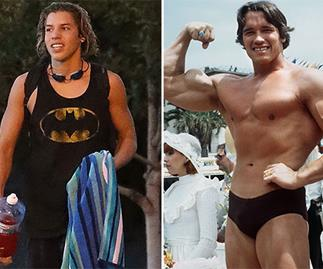 Arnold's lookalike love child turns 16