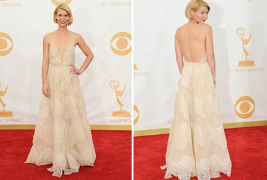 Claire Danes steals the show at Emmy Awards