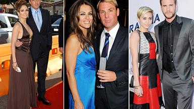 Celebrity couples that never got married