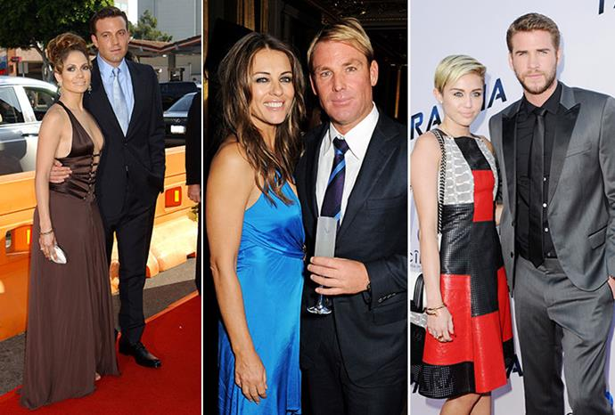 Shane and Liz may join these celebrity couples who broke of their engagements.
