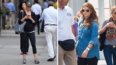 Princess Madeleine shows off growing baby bump