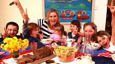 Feeding kids: How to get your kids to eat healthy food