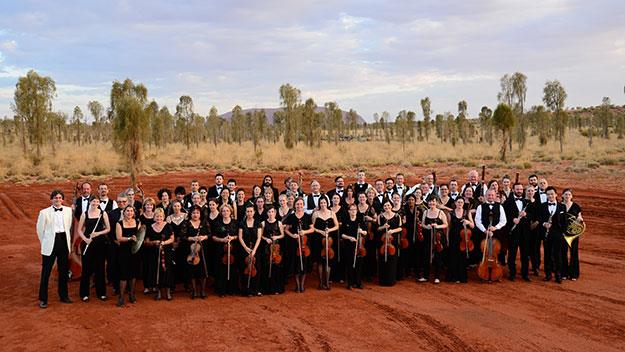Iconic musicians and iconic landmark make history in Red Centre