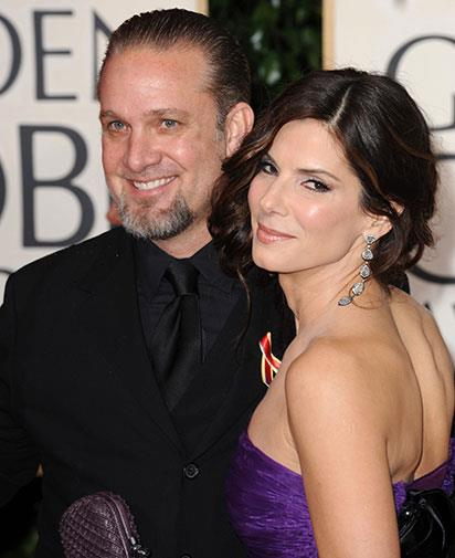 With ex-husband Jesse James at the 2010 Golden Globes.