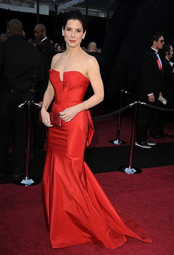Her Oscars look made best dressed lists worldwide in 2012.