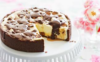 Mars Bars cheesecake