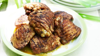 Portuguese-style barbecued chicken