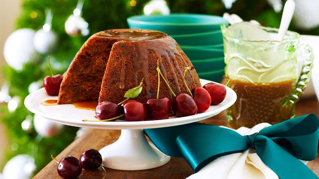 """This **[last-minute Christmas pudding with caramel brandy sauce](http://www.foodtolove.com.au/recipes/last-minute-christmas-pudding-with-caramel-brandy-sauce-23631 target=""""_blank"""")** is perfect for those short on time, but still wanting maximum flavour this festive season."""