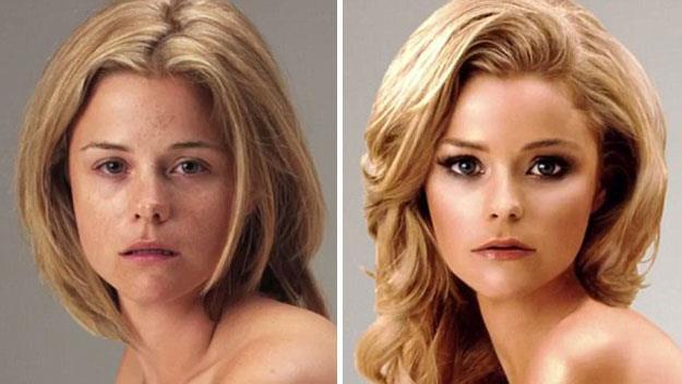 An amazing Photoshop transformation.