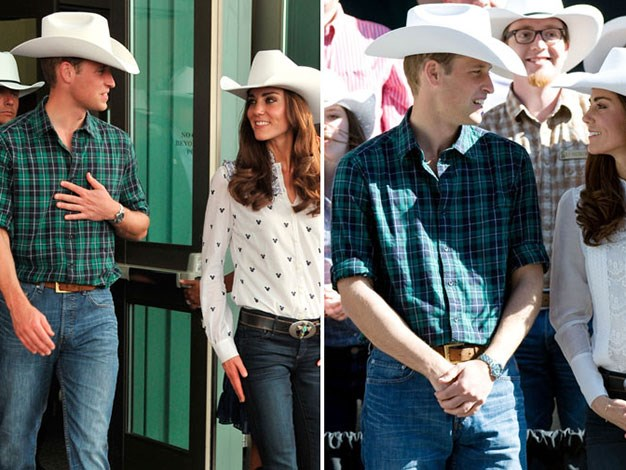 Prince William wore the same outfit two days in a row at the Calgary Stampede in 2011.