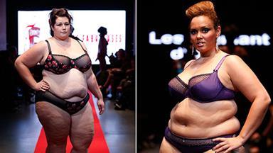 Plus-size fashion hits Paris catwalks