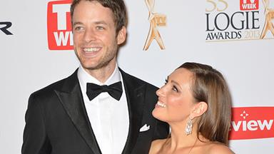 Hamish Blake and Zoe Foster expecting first child