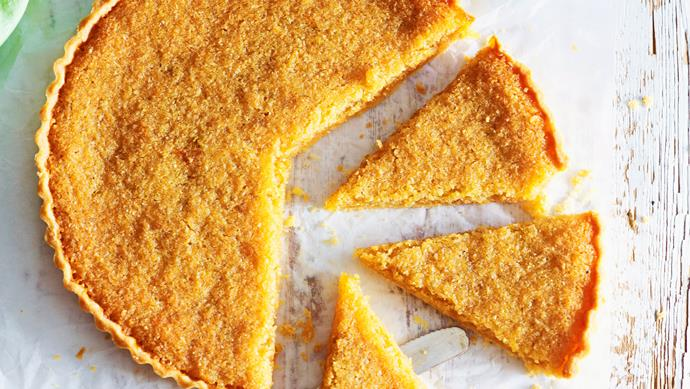 """**[Lime and golden syrup tart](https://www.womensweeklyfood.com.au/recipes/lime-and-golden-syrup-tart-23954