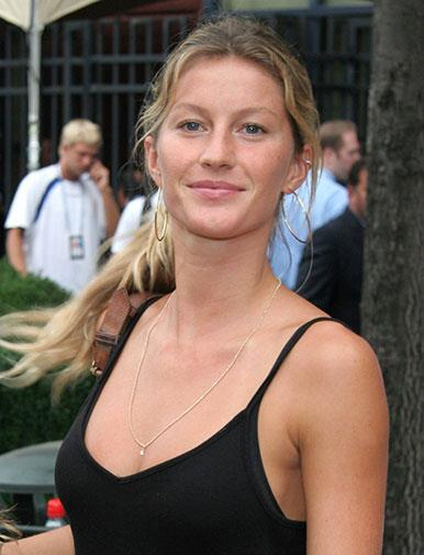 Supermodel Gisele Bundchen in 2006.