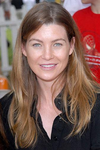 Grey's Anatomy star Ellen Pompeo on 2006.
