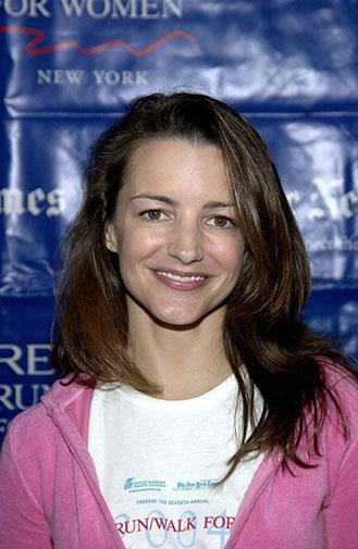 Sex and the City star Kristin Davis in 2004.