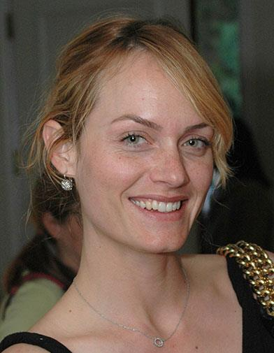 Former model Amber Valletta in 2006.