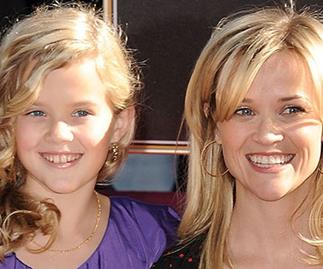 Reese Witherspoon and her daughter Ava Phillippe.