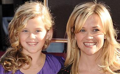 Seeing double: Ava spitting image of Reese