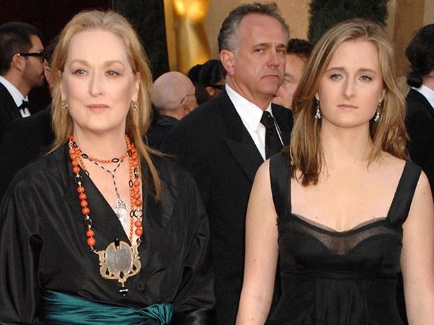 Meryl Streep with her daughter Mamie.