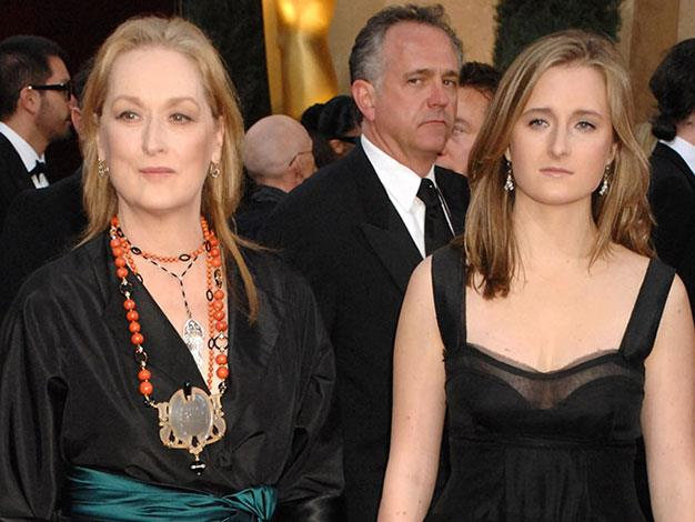 Meryl Streep with her daughter Mamie.