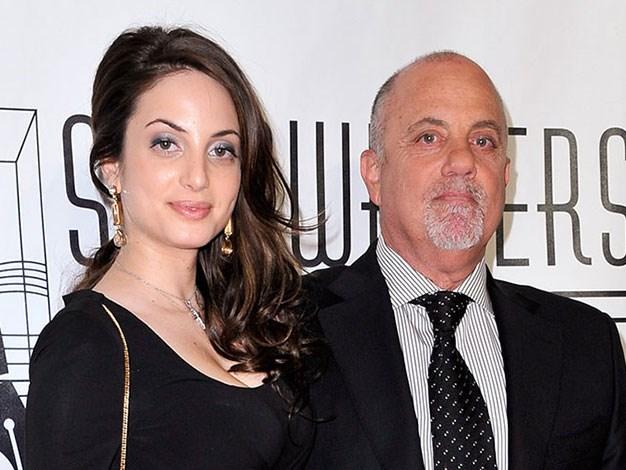 Billy Joel and his daughter Alexa Ray.