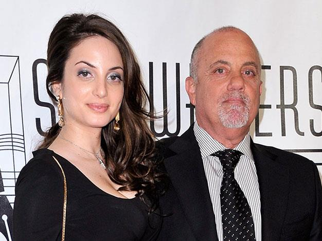 Billy Joel and his daughter Alexa Ray.