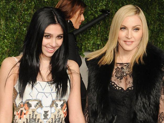 Madonna and Lourdes.