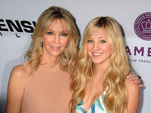 Heather Locklear with her daughter Ava Sambora.
