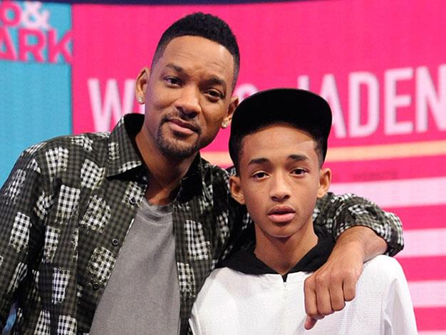 Will Smith and his son Jaden.