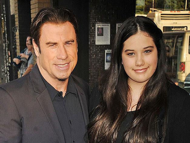 John Travolta and his daughter Ella Bleu look very similar.
