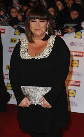 "Dawn French told The Weekly: ""I've been a fat person all my life... I have never had a problem with it"""